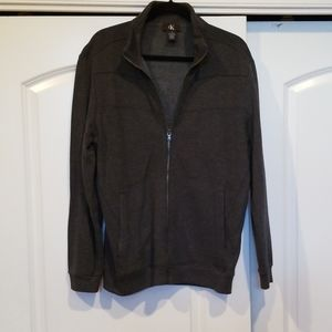 Calvin Klein Zip Up Sweater